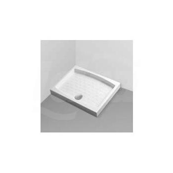 Piatto doccia 90X70 con foro piletta da 60 bianco europa IDST102701