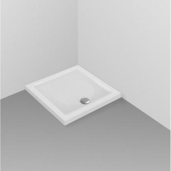 CONNECT piatto doccia 90x90x6 bianco europa T266201 - Piatti doccia