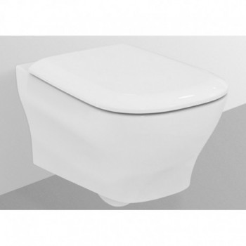 ACTIVE wc sospeso con sedile slim bianco europa IDST332701