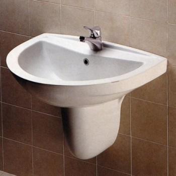 TESI CLASSIC semicolonna per lavabo bianco europa IDST409401