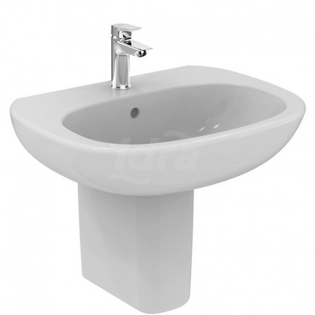TESI lavabo con foro 65x50 bianco europa T351301 - Lavabi e colonne