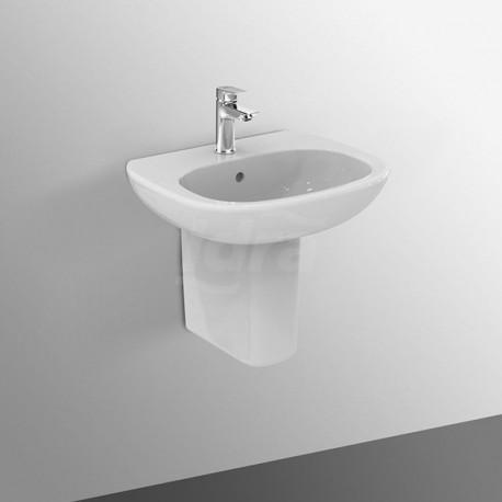TESI lavabo con foro 60x47 bianco europa IDST351401