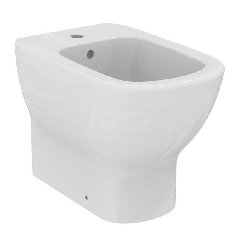 TESI bidet filo parete monoforo bianco europa IDST354001