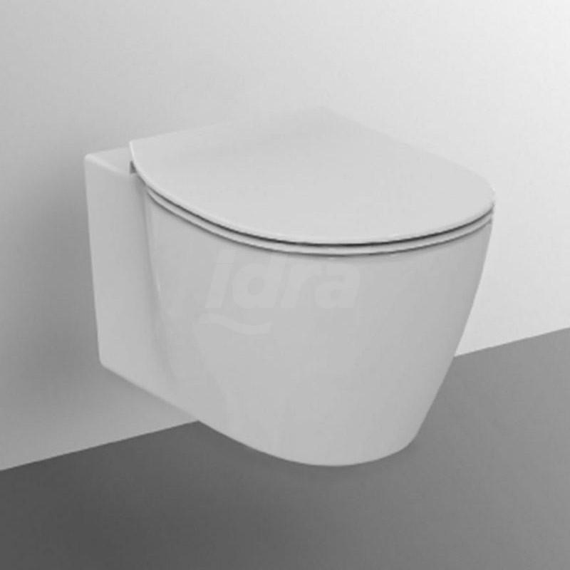 CONNECT wc sospeso + Aquablade + sedile slim bianco europa IDSE048301