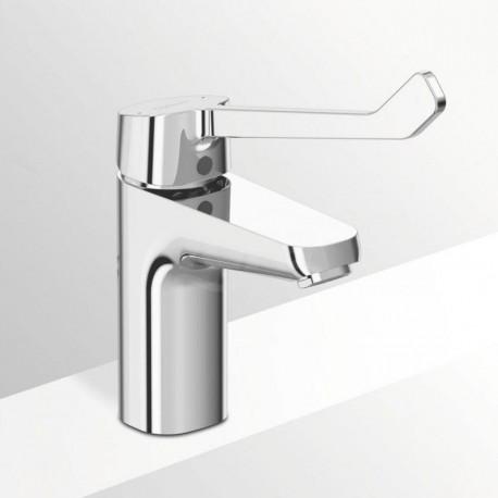 Base Miscelatore rubinetto monocomando lavabo con leva lunga B5114AA - Per lavabi