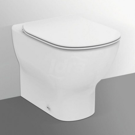 TESI wc BTW universale + Aquablade + sedile slim a chiusura rallentata bianco europa T353601