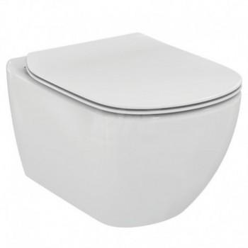 TESI wc sospeso + Aquablade + sedile slim bianco europa IDST354701