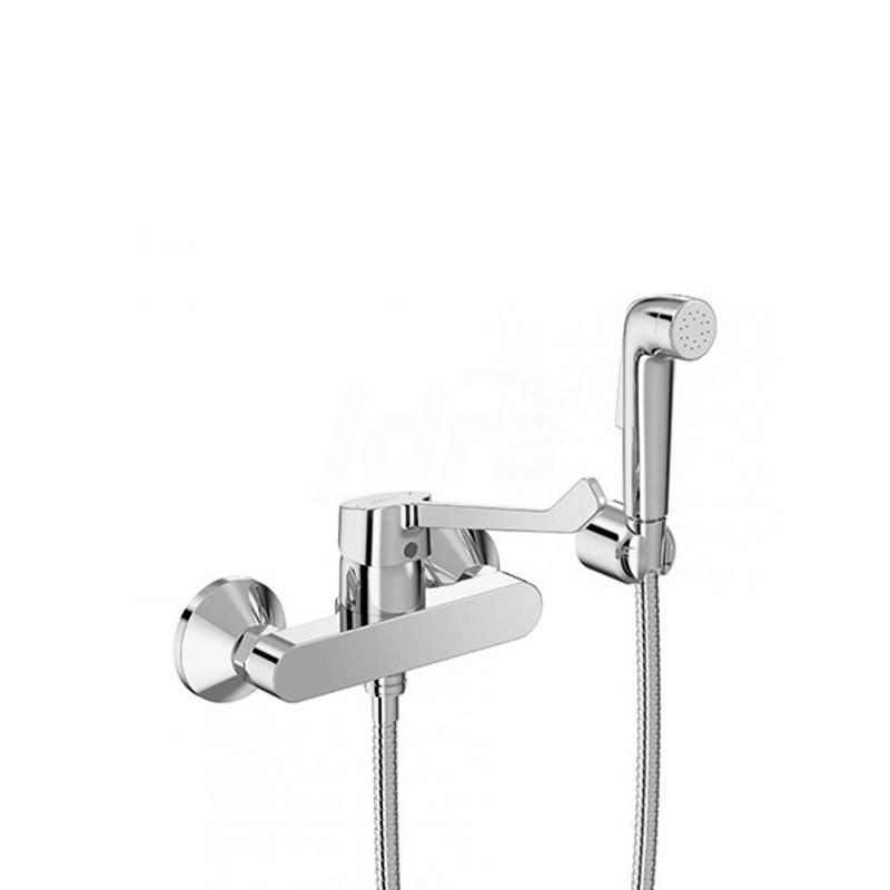 Miscelatore rubinetto monocomando per vaso/bidet a leva lunga con accessori B5117AA