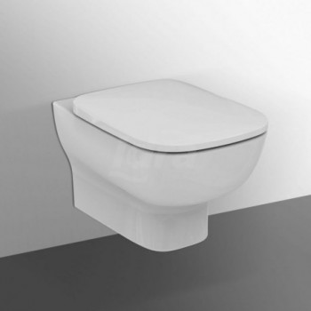ESEDRA vaso sospeso sedile NC bianco T278601