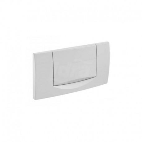 Placca di comando con tasto singolo colore bianco GEB115.222.11.1