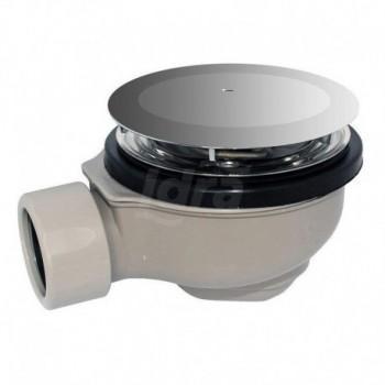 Sifone per piatto doccia con piletta 90 mm GEB150.677.21.1