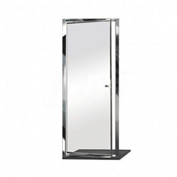 Box Docce E1D0ATR0 Cabina Doccia, Argento Lucido, 86/92 cm BOXE1D0ATR0