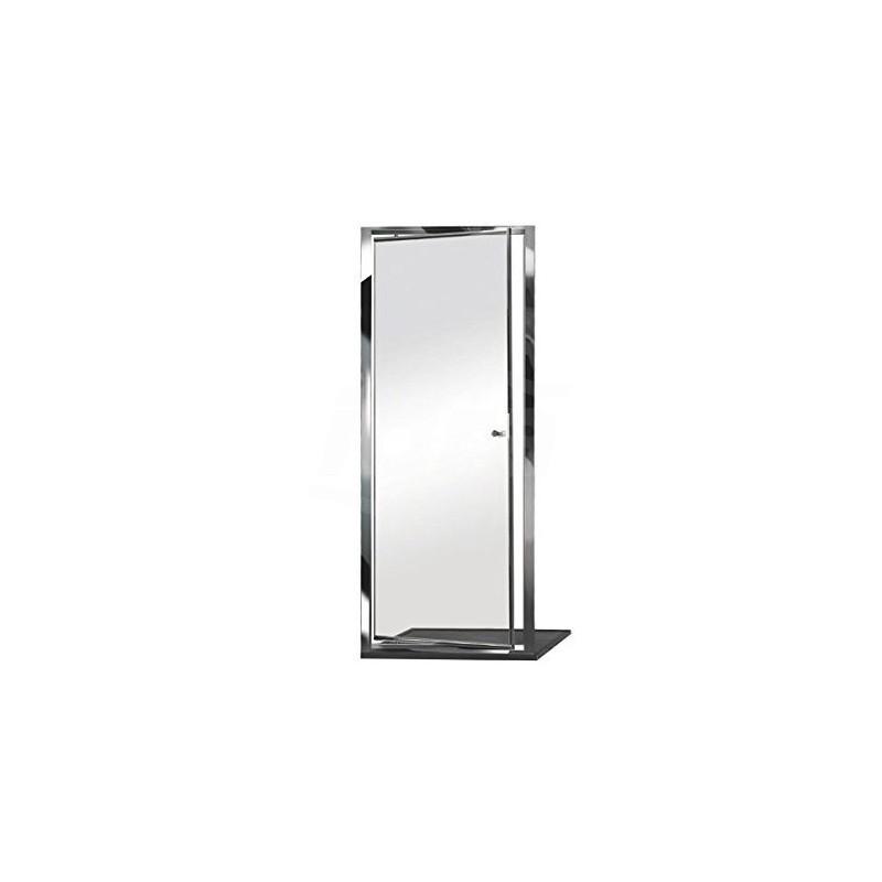 Box Docce E1D0ATR0 Cabina Doccia, Argento Lucido, 86/92 cm E1D0ATR0 - Box doccia in cristallo