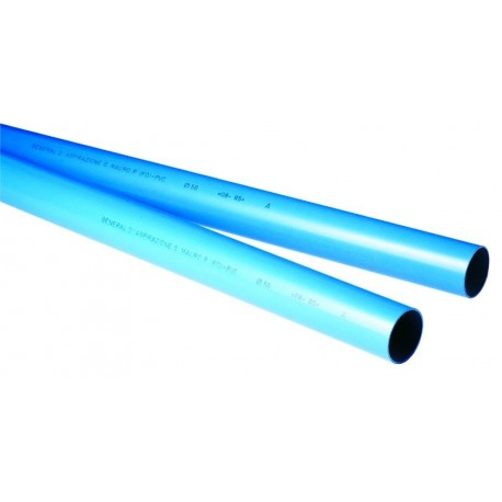 Tubo PVC GDA ø50mm BLU PIIP/C barra 2m 0701026 - Aspirapolvere centralizzati