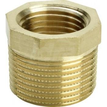 Manicotto di riduzione 1 1/4 x 3/4,mod.3241,bronzo/lucido 267568