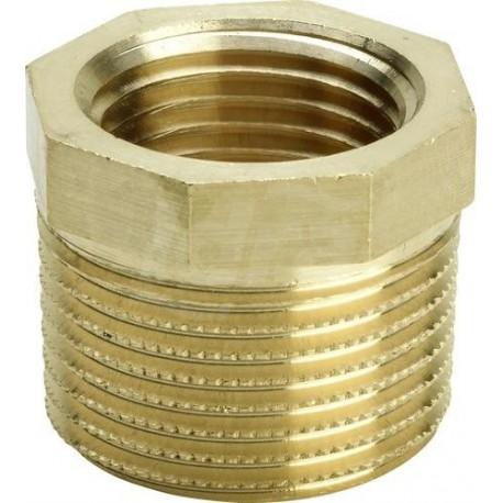 Manicotto di riduzione 1 1/4 x 3/4,mod.3241,bronzo/lucido VGA267568