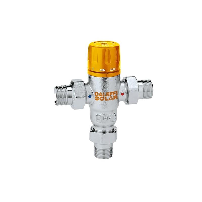 "2521 SOLAR Miscelatore termostatico regolabile ø3/4"" 30÷65°C 252150 - Regolazione a punto fisso"