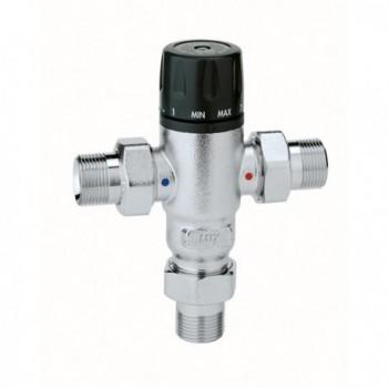 """521 Miscelatore termostatico regolabile ø1/2"""" 30÷65°C 521400 - Regolazione a punto fisso"""
