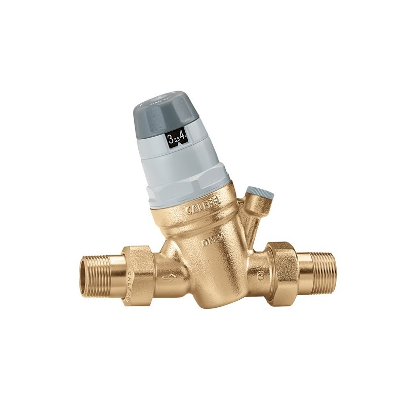 """5350 riduttore di pressione ø1/2"""" con attacco monometro 535040 - Riduttori di pressione"""