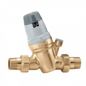 """5350 riduttore di pressione ø1"""" con attacco monometro CAL535060"""
