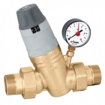 """5350 riduttore di pressione ø1.1/4"""" con manometro 0÷10bar 535071 - Riduttori di pressione"""