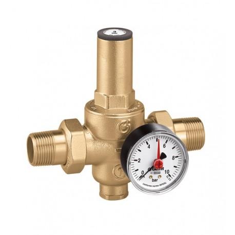 """5360 riduttore di pressione con manometro 0÷10bar ø1/2"""" 536041 - Riduttori di pressione"""