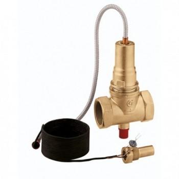 """541 valvola intercettazione combustibile ø1.1/4""""F 98°C 5M CAL541070"""