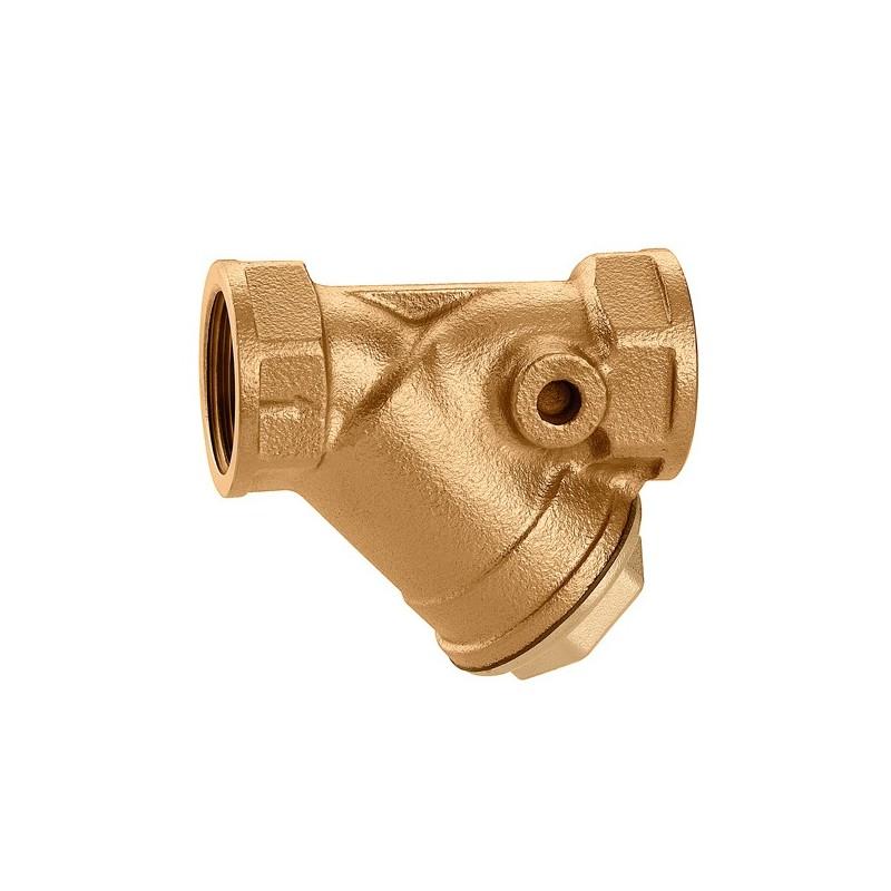 "577 filtro Y in bronzo ø1/2"" maglia inox CAL577004"
