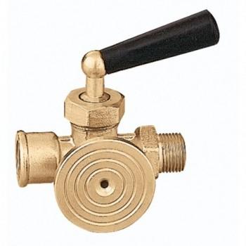 """690 rubinetto manometro a 3vie ø3/8"""" ISPESL 690300 - Sicurezza/Vasi/Centrale termica"""