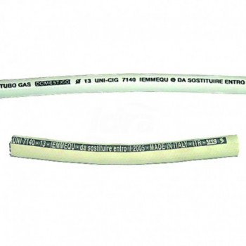 Tubo gomma 13x20 per metano pirelli TCG00000050200