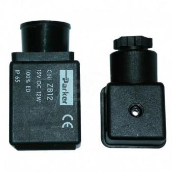 Connettore universale per bobina elettrovalvole TCG00000009049