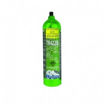Bombola gas TR422B ricaricabile 1kg (Solo per possessori di patentino F-Gas) 00000011690