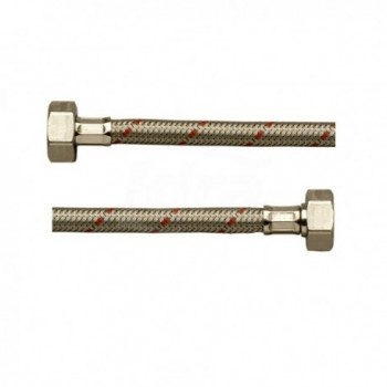 Dn8 Flex Inox Exp. Mpr 1/2 - Fgi 1/2 mm 0400 CGADDS0400LAS - Per sanitari - treccia inox