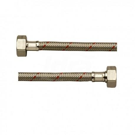 Dn8 Flex Inox Exp. Mpr 3/8 - Fgi 1/2 mm0300 CGADHS0300LAR - Per sanitari - treccia inox