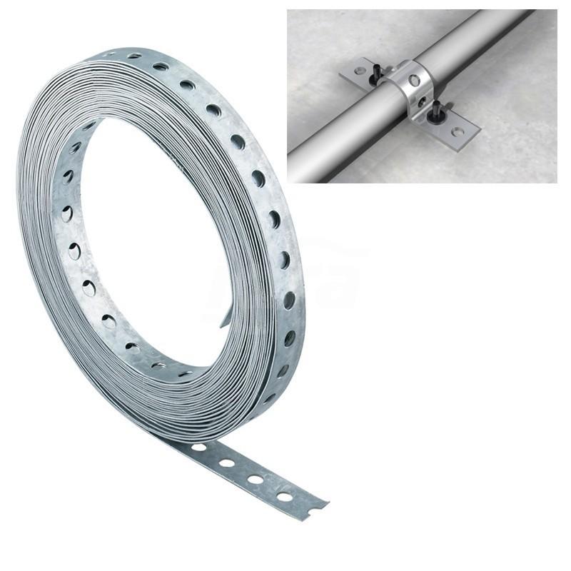 LBV 12 Bandella perforata acciaio zincato 10m 00079549 - Accessori