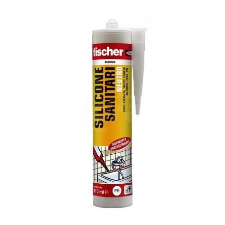 SNS 310-BI Sigillante siliconico neutro a base alcolica per l'impiego in ambienti sanitari 310ml 00009383