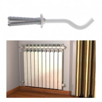 TF 8/70 B Mensole per radiatore tubolare alluminio FIS00501096