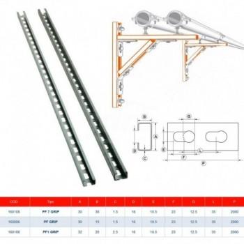 Pf1 Grip Barra 30X20X2,5 - 2M GIA160106