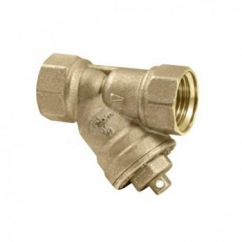 """Filtro depuratore ad Y con cartuccia filtrante estraibile. Idoneo per acqua 800µ ø1.1/2"""" RBM08580812"""