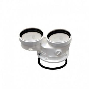 Kit sdoppiato scarico fumi tubi separati 80/80 FRL041082X0