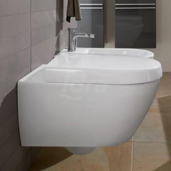 SUBWAY 2.0 sedile wc bianco-cerniere in acciao inox 9M68Q101 - Sedili per WC