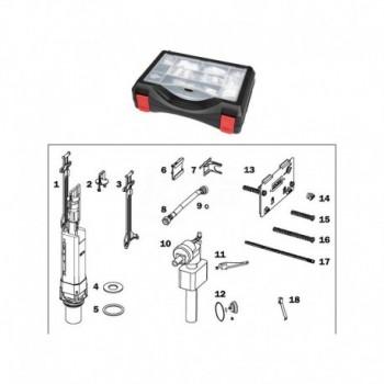 TECEbox valigetta ricambi per cassetta  OCTA 8cm TCE9820228