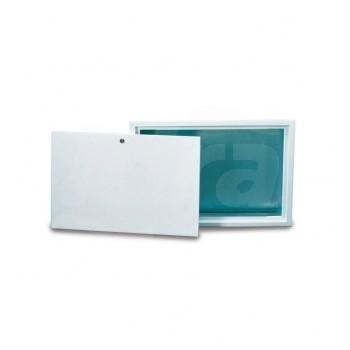 Cf 491 Cassetta con Porta acciao verniciato Bianca mm.850X600X90 LUX68561508