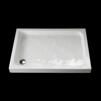 PLAZA piatto doccia 80x120 H.11 bianco GLS1012