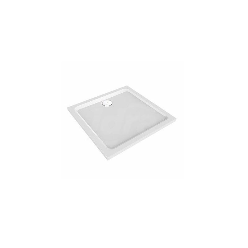 MELUA piatto doccia quadrato 80x80 bianco POG550.501.00.1