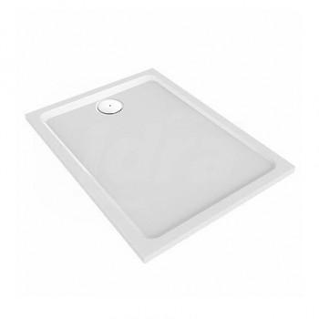 MELUA piatto doccia rettangolare 120X80 bianco POG550.508.00.1