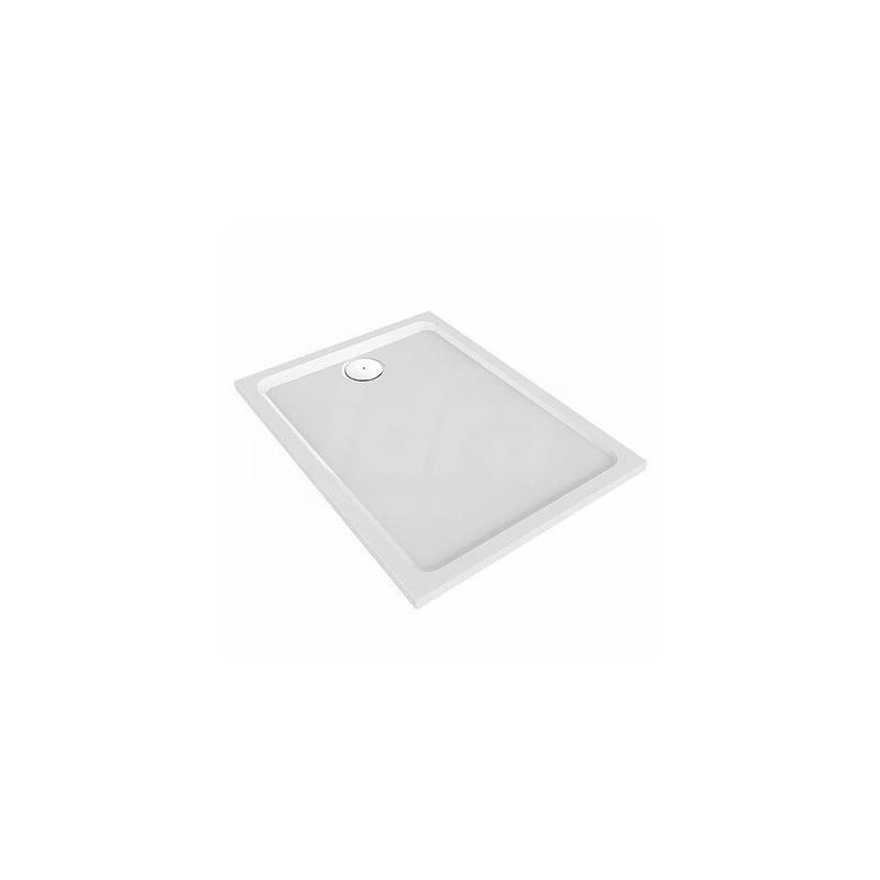 MELUA piatto doccia rettangolare 140X80 bianco POG550.511.00.1