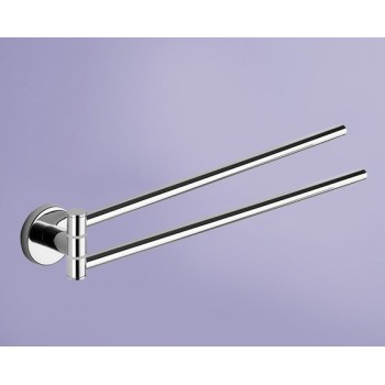 Gedy G.Felce portasalviette a snodo in acciaio inox misure art. 36,9x4,8x5,6 0000FE231300100 - Accessori