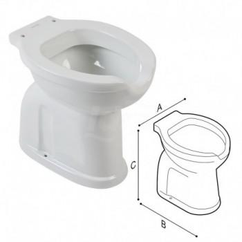 Casual Wc Scarico A Pavimento 37,5X53X50 bianco Eur. PGUB40CBO10