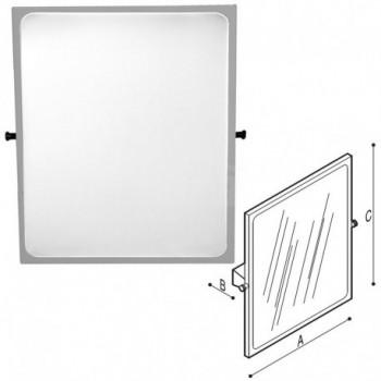 Paint Specchio inclinabile 55,2X10X60 bianco Lino PGUF41JPS25